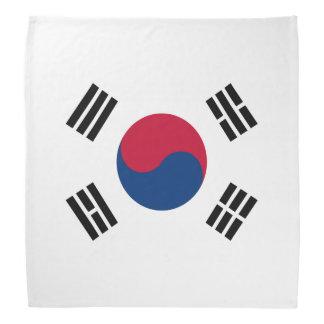 South Korean flag bandanas