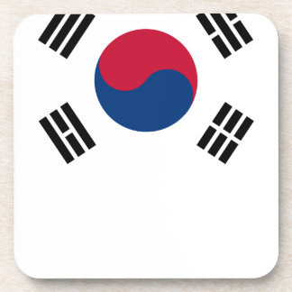South Korean Flag Coaster