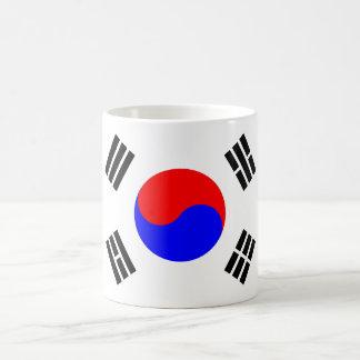 South Korean Flag Magic Mug