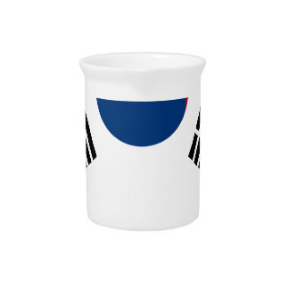 South Korean Flag Pitcher