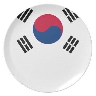 South Korean Flag Plate