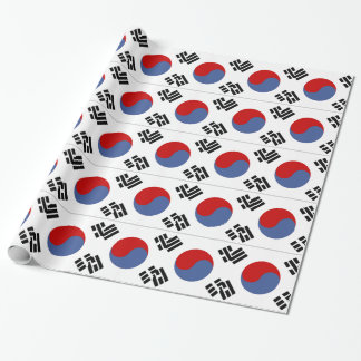 South Korean Flag Wrapping Paper