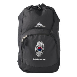 South Korean touch fingerprint flag Backpack