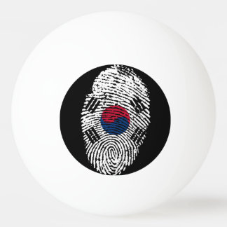 South Korean touch fingerprint flag Ping Pong Ball