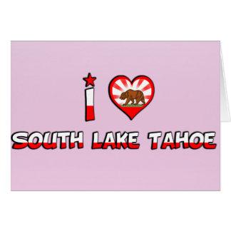 South Lake Tahoe, CA Greeting Card