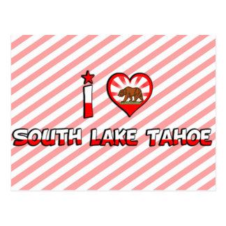 South Lake Tahoe, CA Postcard