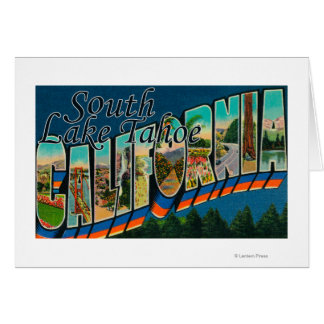 South Lake Tahoe, California Greeting Card