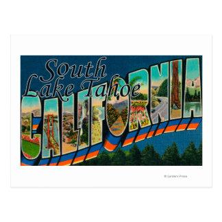 South Lake Tahoe California Postcards