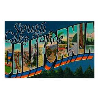 South Lake Tahoe, California Poster
