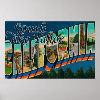 South Lake Tahoe California Print