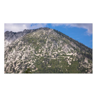 South Lake Tahoe Cascade Mountain Pack Of Standard Business Cards