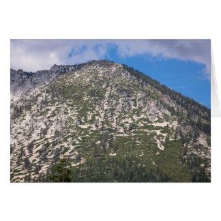South Lake Tahoe Cascade Mountain Note Card