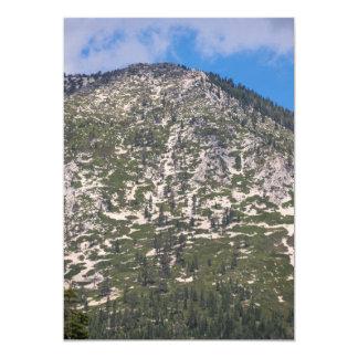 South Lake Tahoe Cascade Mountain 13 Cm X 18 Cm Invitation Card