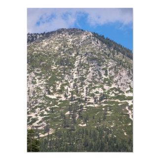 South Lake Tahoe Cascade Mountain 14 Cm X 19 Cm Invitation Card