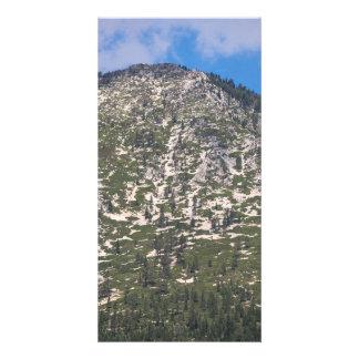 South Lake Tahoe Cascade Mountain Custom Photo Card