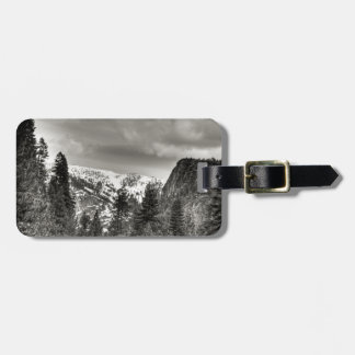 South Lake Tahoe Trees And Mountains Bag Tags