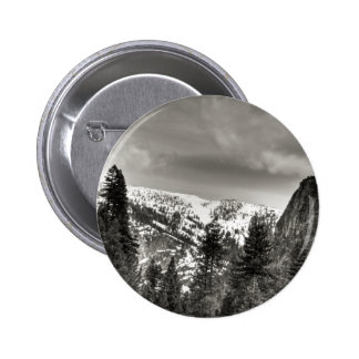 South Lake Tahoe Trees And Mountains Buttons