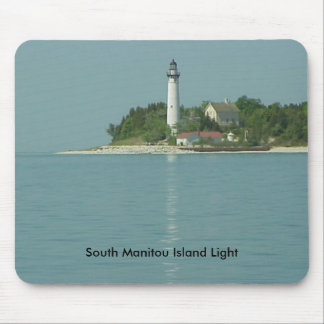 South Manitou Island Light Mouse Pad