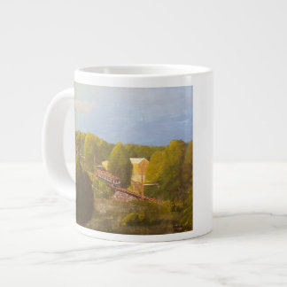 """""""South Mountain Sunrise Run"""" Jumbo Mug"""