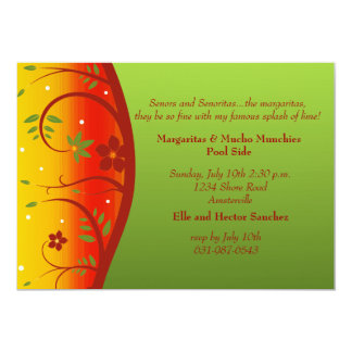 South of the Border Party Invitation