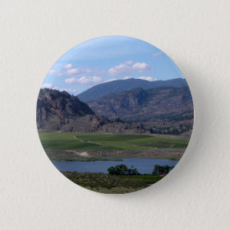South Okanagan Valley vista 6 Cm Round Badge