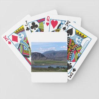 South Okanagan Valley vista Bicycle Playing Cards