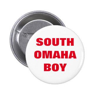 South Omaha Boy 6 Cm Round Badge
