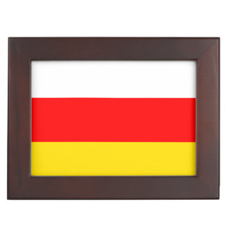 South Ossetia Flag Keepsake Box