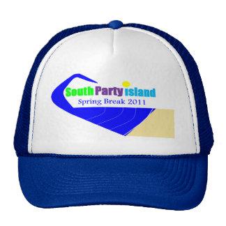 South Party Island Spring Break Cap