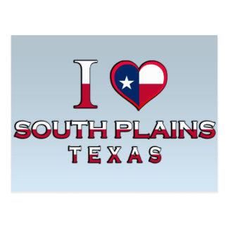 South Plains, Texas Postcard