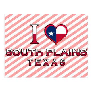 South Plains, Texas Post Card