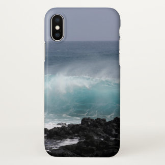 South Point Wave, Hawaii iPhone X Case