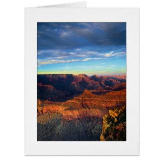"""South Rim - Grand Canyon"" Big Greeting Card"