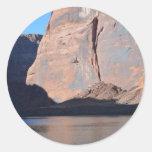 South Rim Grand Canyon Colorado River Round Sticker