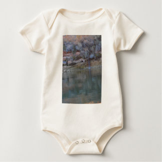 South Rim Grand Canyon Overlook Baby Bodysuit