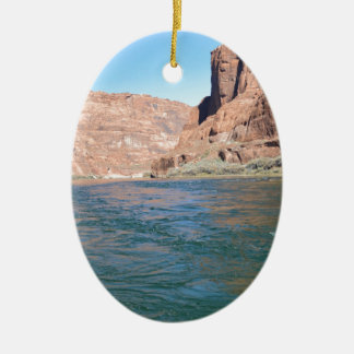 South Rim Grand Canyon Overlook Ceramic Oval Decoration