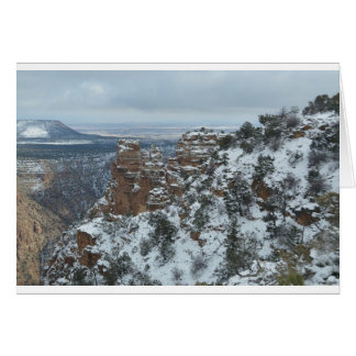 South Rim Grand Canyon Overlook Greeting Card