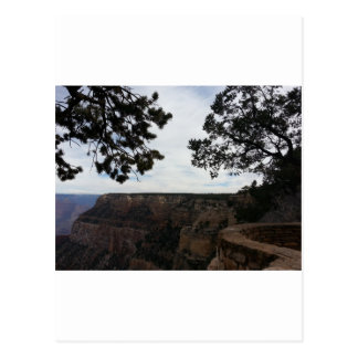 South Rim Grand Canyon Overlook Hopi Point Postcard