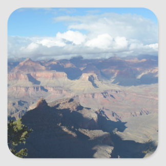 South Rim Grand Canyon Overlook Square Sticker