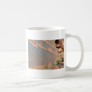 South Rim Grand Canyon Petroglyph Coffee Mugs