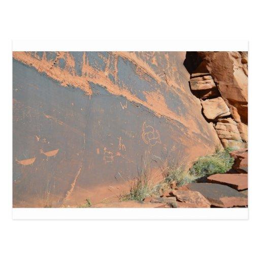 South Rim Grand Canyon Petroglyph Post Cards