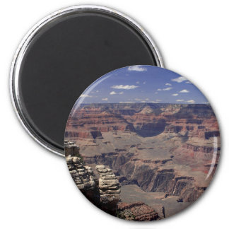 South Rim Of The Grand Canyon In Arizona 6 Cm Round Magnet