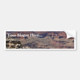 South Rim Of The Grand Canyon In Arizona Bumper Sticker