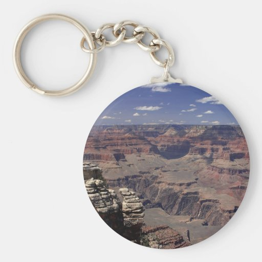 South Rim Of The Grand Canyon In Arizona Key Chains
