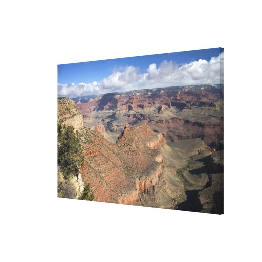 South Rim view of the Grand Canyon, Arizona, Canvas Print
