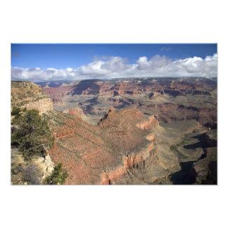 South Rim view of the Grand Canyon, Arizona, Art Photo