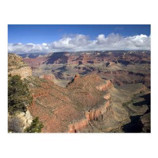 South Rim view of the Grand Canyon, Arizona, Postcard