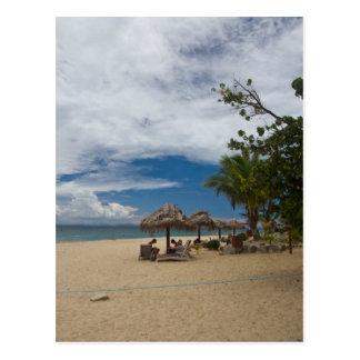 South Sea Island Beach, Fiji Postcard