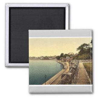 South Shore, Southampton, England rare Photochrom Square Magnet