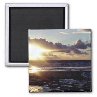 South Shore Sunset Fridge Magnet